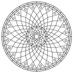 Mandala roue #mandala #mandalas #coloriage