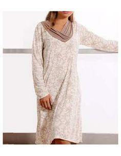 Camisola Manga Longa Jussara Sleepwear (840) Liganete
