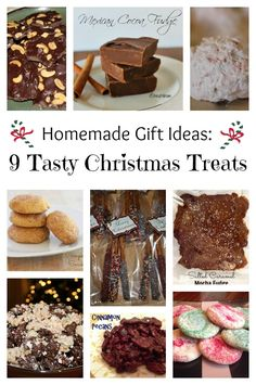 Homemade Gift Ideas: 9 Tasty Christmas Treats