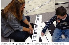I would love to teach music to special needs children Learning Music Notes, Teaching Music, School Of Education, Music School, Special Needs Kids, Children With Autism, Graduate School, Music Lessons, Teacher