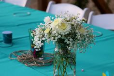 Event produced by Kapture Vision. Flowers, tablesetting, outdoor, nature, Camp Retreat