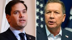 Republican presidential candidate Sen. Marco Rubio has dropped to third place just days ahead of a crucial primary in his home state of Florida, according to a CBS News poll released Sunday.