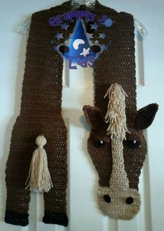 Amazing Crochet Animal Scarves Ideas