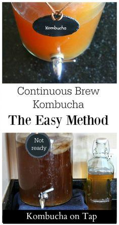 Health The continuous brew method for making kombucha is ideal for beginners or those who are experienced. Find out how to keep kombucha on tap! - Wondering about kombucha? Interested in brewing your own? Learn more about Continuous Brew Kombucha! Kombucha Flavors, Kombucha Scoby, How To Brew Kombucha, Kombucha Recipe, Probiotic Drinks, Making Kombucha, Kombucha Brewing, Kombucha Drink, Kombucha Benefits