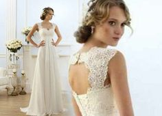 Hey, I found this really awesome Etsy listing at https://www.etsy.com/listing/249377543/open-back-lace-chiffon-wedding-dress