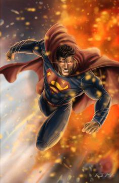Man of Steel by 1314 on deviantART Superman Pictures, Superman Artwork, Superman Wallpaper, Superman Movies, Superman Stuff, Superman Man Of Steel, Batman Vs Superman, Fallout Art, Arte Dc Comics