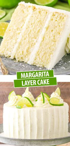 This Margarita Cake is flavored with lime and plenty of tequila for a moist and tender layer cake that is so full of margarita flavor! It is definitely a favorite for summer! # cupcake cakes Easy Margarita Cake with Lime & Tequila Summer Cake Recipes, Delicious Cake Recipes, Best Cake Recipes, Cupcake Recipes, Yummy Cakes, Sweet Recipes, Easy Birthday Cake Recipes, Lime Recipes, Cuban Recipes