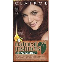 Want natural red hair color? Try Natural Instinct's demi-permanent products with aloe, vitamin and antioxidants for healthy natural red hair color from Clairol. 2 Hair Color, Hair Color Brands, Olivia Palermo, Clairol Natural Instincts Colors, Non Permanent Hair Color, Casting Creme Gloss, Organic Hair Color, Organic Nails, Vibrant Hair Colors