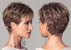Layered Pixie Haircut for Women