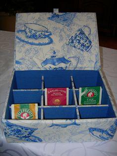 boîte à thés