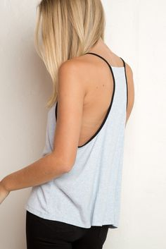 Brandy ♥ Melville   Talia Tank - Clothing Belmont, Brandy Love, Brandy Melville Usa, Tank Tops, Tanks, What To Wear, Cute Outfits, Street Style