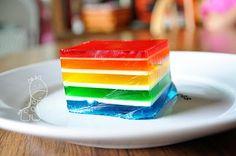 How-to Rainbow Jello!