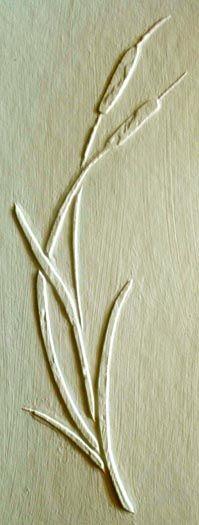 Plaster_Stencil_Arched_Cattails