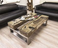 Pallet Furniture, Bedroom Furniture, Architecture, Tables, Home Decor, Wood Furniture, Mesas, Iron, Tree Trunk Table
