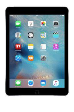 Das iPad Air 2 ist noch schlanker als sein Vorgänger: nur 6,1 mm dünn und 437 g leicht. Dank Touch ID sind die Daten mit dem eigenen Fingerabdruck gesichert.