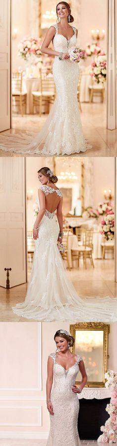 01044700c0  weddingideas  weddingdressideas  weddingdresses  weddingdressgoals Wedding  Dresses Stella York