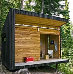Tiny DIY Cabin Gets You Off the Grid and Back to Nature   EcoSalon   Conscious Culture and Fashion
