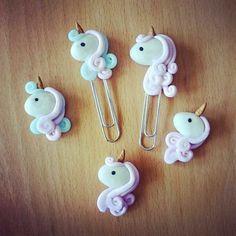 Unicorn paper clip