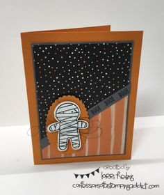 Cozy Crafty Retreat This Weekend! Plus a Cookie Cutter Halloween Card! :: Confessions of a Stamping Addict Lorri Heiling Halloween