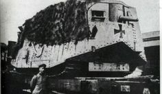 "Tank 561 ""Nixe"" (Leutnant Biltz), until 24 April 1918."
