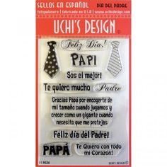 Paper Craft and Scrapbook Supplies Ink Pads, Clear Stamps, Fathers Day, Cool Things To Buy, Writing, This Or That Questions, Spanish, Discount Travel, Website
