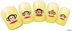 Findfine - Cute Monkey,3D Nail Tattoo Pretty Pattern,2 Packs,Gold,Nail 3D Art Tattoo Nail Art Nail Deacl Nail Stickers Water Transfer Tattoo £¨#No217£© Findfine,http://www.amazon.com/dp/B00H7G4WJA/ref=cm_sw_r_pi_dp_Cloatb1EA8350HS1