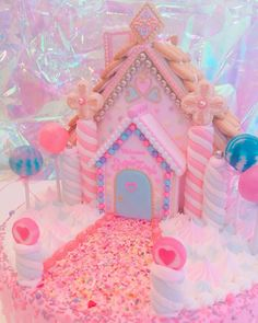 CUTE AESTHETICS Aesthetic Food, Pink Aesthetic, Kawaii Dessert, Rainbow Food, Kawaii Room, Cute Desserts, Everything Pink, Pink Christmas, Candyland