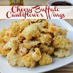 Cheesy Buffalo Cauliflower Wings - Enjoy this recipe and For great motivation, health and fitness tips, check us out at: www.betterbodyfitnessbootcamps.com Follow us on Facebook at: www.facebook.com/betterbodyfitnessbootcamps