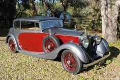 1935 Rolls Royce Phantom II Freestone & Webb Sports Coupe