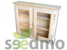 #Muebles y #decoración vitrina con 2 puertas de colgar #lowcost compra Online.