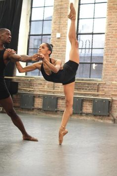 Misty Copeland - the first African American female soloist for the American Ballet Theatre