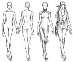 Fashion Girl Drawing Templates Easy Fashion Coloring Page For Kids Free Coloring Pages For Kids Picture