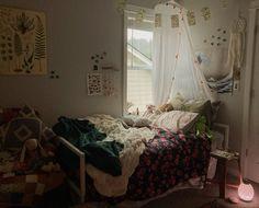 Room Ideas Bedroom, Bedroom Themes, Bedroom Inspo, Bedrooms, Bedroom Decor, Dream Rooms, Dream Bedroom, Pretty Room, Aesthetic Rooms