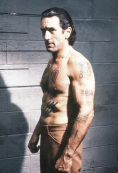Robert De Niro in Cape Fear (1991) Here is an Actor who gets into the Skin of his characters.