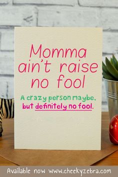 Ideas Birthday Card Funny Mom Etsy For 2019 Funny Mom Birthday Cards, Happy Birthday Mom Quotes, Belated Birthday Card, Birthday Presents For Mom, Birthday Card Sayings, Late Birthday, Mother Birthday Gifts, Birthday Images, Birthday Wishes