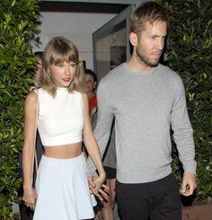 Schwer verliebt: Taylor Swift und Calvin Harris Händchen haltend in Santa Monica
