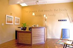 "chiropractic office design pictures | Bill is the new co-host and builder on HGTV's show ""Curb Appeal"", with ..."