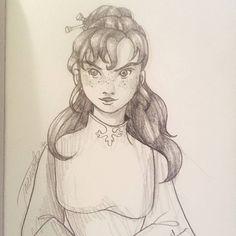 "The Black Piper (@theblackpiper): ""Cool #sketch of #ShallanDavar by @esamemsart  #thestormlightarchive #thewayofkings #brandonsanderson"""