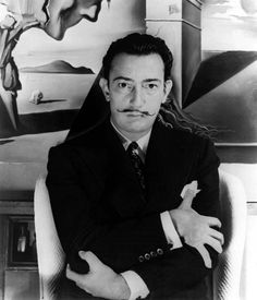 Salvador Dalí on the set of Alfred Hitchcock's 'Spellbound', 1945 Image Rights of Salvador Dalí reserved. FUNDACIÓ GALA-SALVADOR DALÍ, Figueres, 2007