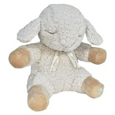 Cloud B Plush Sleep Sheep Sound Machine, Light Off-White