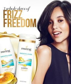 Free Sample of Pantene Smooth