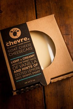 Artisan Cheesecake by Belle Chevre for Bourbonandboots.com
