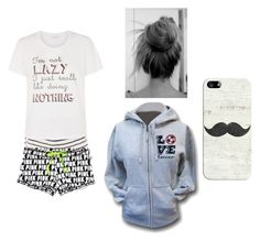 """""""Sleepwear"""" by jenjengrant on Polyvore featuring Casetify and sleep"""