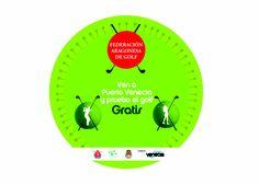 Los próximos 8 y 9 de marzo la Federación Aragonesa de Golf estará presente en The Gallery (junto a Hollister Co.) donde los más pequeños podrán probar este deporte además de participar en un concurso donde podrán ganar cursos de golf gratuitos.    Horario:  Viernes 8 de 17 a 21h y sábado 9 de 10 a 14 y de 17 a 21h.    ¡Ven y prueba gratis el Golf!