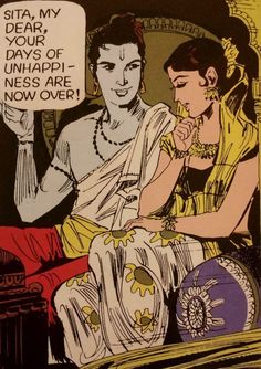 Rama & Sita Hindu Lore Pop