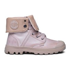 Palladium Damen Pallabrouse Baggy L2 Boots Dusty Pink/Moonlight
