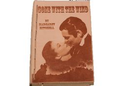 Original copy of Margaret Mitchell's, Gone With The Wind bound in a hand made…