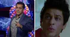 """Salman Khan didin't miss the oportunity to make fun of Shah Rukh Khan this time too. The scene was the location of an ad shoot where Salman said to the director, """"if you wanted someone to over act, then you should have chosen Shah Rukh. Acting, Entertainment, Entertaining"""