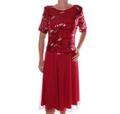 Dámske elastické spoločenské šaty s trblietavým vrchom - bordové Short Sleeve Dresses, Dresses With Sleeves, Fashion, Moda, Sleeve Dresses, Fashion Styles, Gowns With Sleeves, Fashion Illustrations