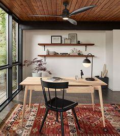 Rejuvenation: Woodsy Studio Refuge